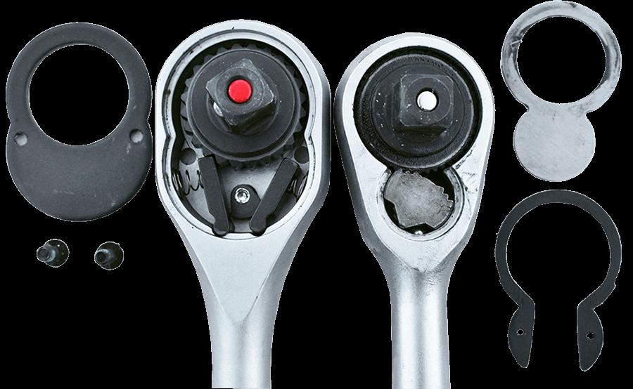 Динамометрический ключ с запчастями